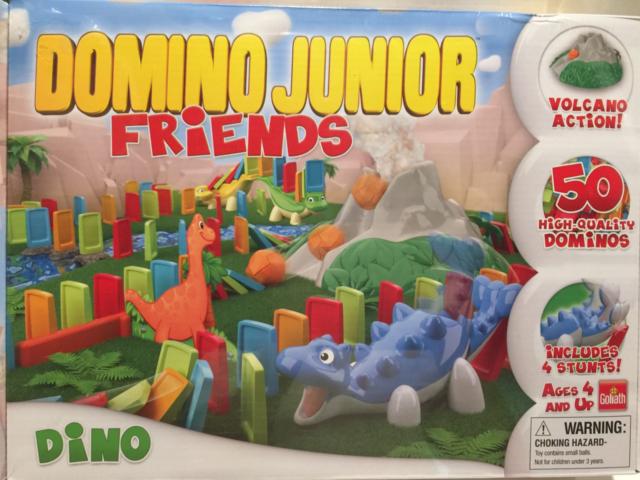 Domino Express Junior Dino Vulcano Goliath Spiele