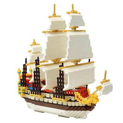 1860pcs Plastic Titanic Ship Model Building Blocks Puzzle Toy Home Ornament