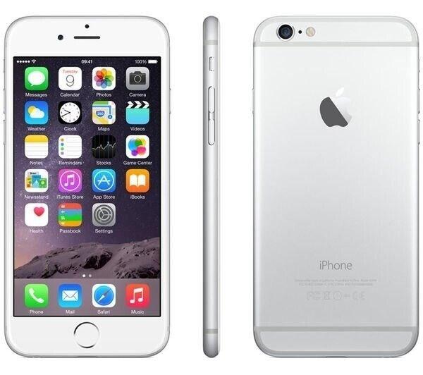 iPhone 6, GB 64, hvid