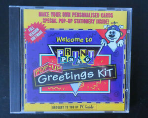 PC-CD-ROM-Make-Your-Own-Pop-Up-Greeting-Cards-Vintage-1998