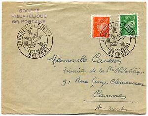 CARTE-MAXIMUM-1943-FDC-JOURNEE-DU-TIMBRE-BELFORT