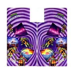 Teenage-Mutant-Ninja-Turtles-in-Time-Arcade-Side-Art-Artwork-Decal-TMNT