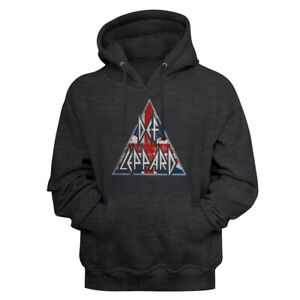 Def-Leppard-British-Logo-Charcoal-Heather-Pullover-Hoodie-Heavy-Metal-Music