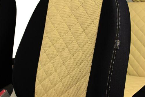 KARO Maß Sitzbezüge mit Kunstleder Schonbezüge Autositzbezüge AUDI A6 C4