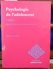 Coslin Psychologie de l'adolescent...