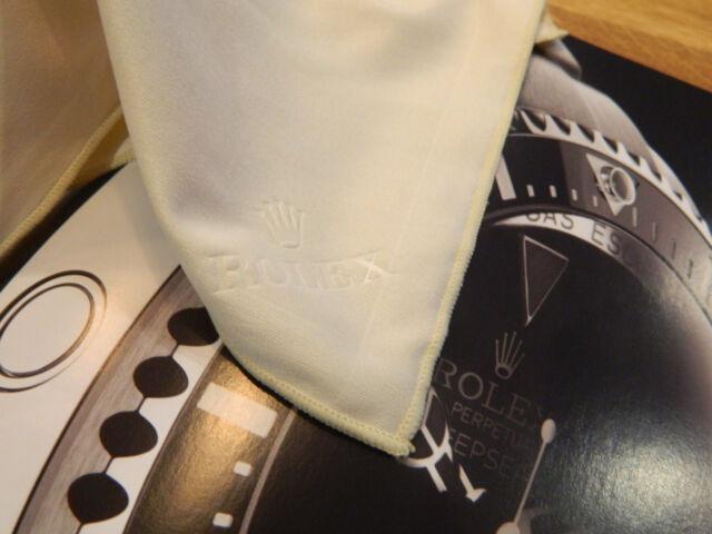 100% Genuine Rolex Polishing / Storage Cloth New Condition. From Rolex Service.