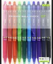 Pilot Frixion Clicker Erasable Gel Ink Pen 10 Pcs 07 Bold Multi Color Japan
