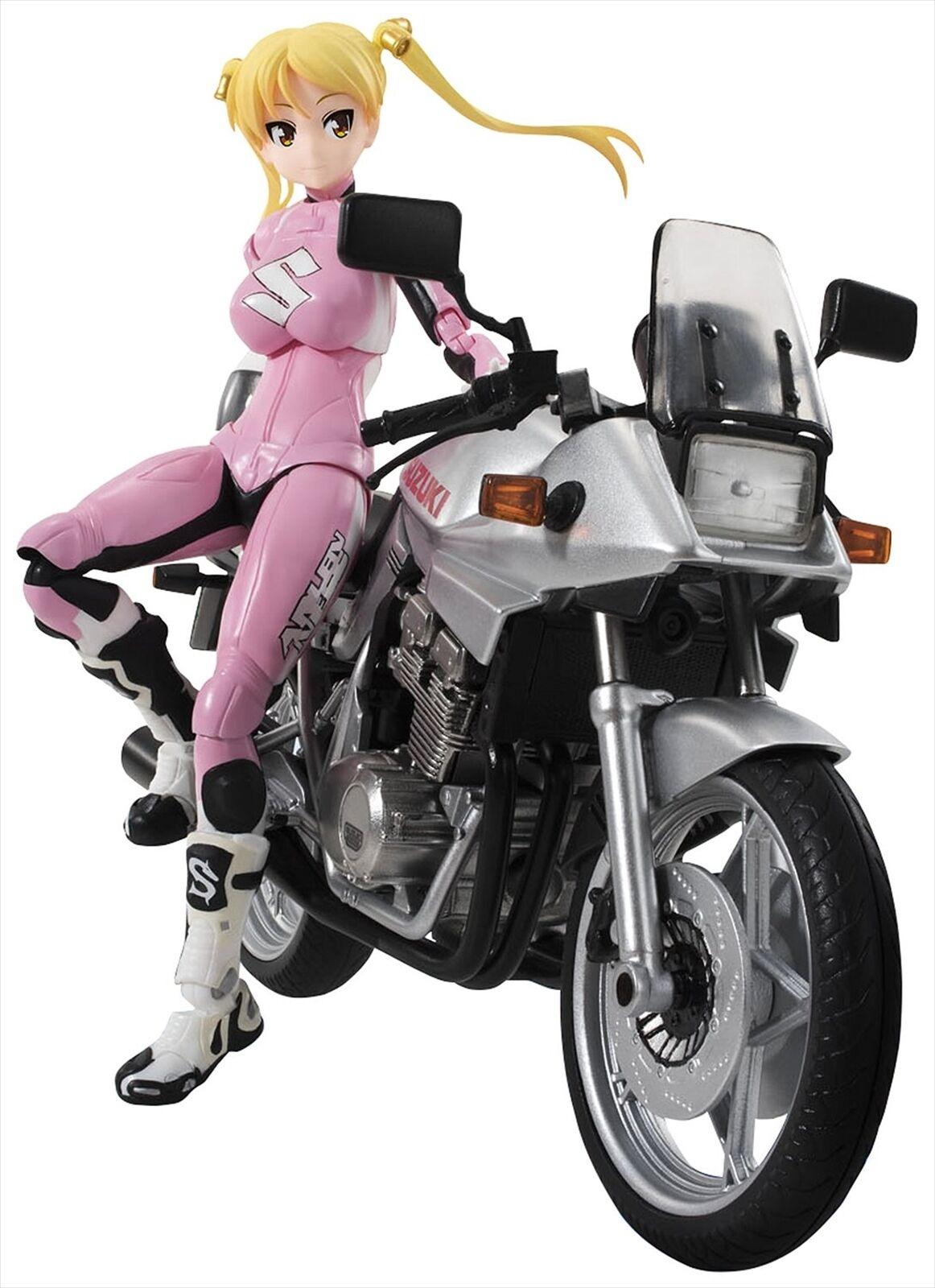 Bandai S.H. Figuarts Bakuon Bakuon Bakuon    Rin Suzunoki Rider Suit & GSX 400S KATANA Figure 1ee468