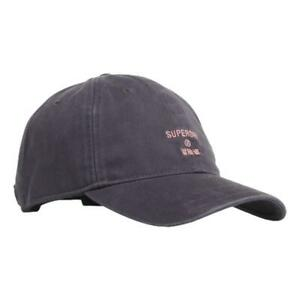 Superdry Neuf Homme Philly Casquette - Marine Neuf avec Étiquette