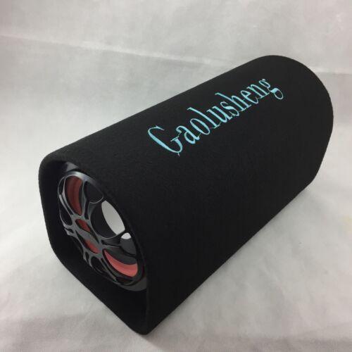 "Altavoz portátil coche Subwoofer de 6/"" túnel de refuerzo Audio HIFI amplificador de bajo 12v"