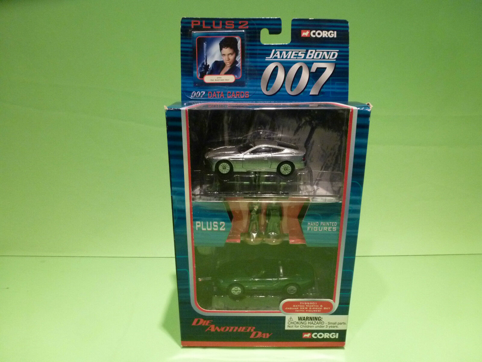 CORGI TOYS TY95901 - ASTON MARTIN + JAGUAR XKR - 007 JAMES BOND - NM IN BOX