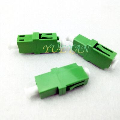 100pcs E2000 APC Singlemode Single Optic Fiber Adapter Flange Coupling Connector