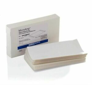 Applied Biosystems MicroAmp Optical Adhesive Film, Pack of 100, New, 4311971