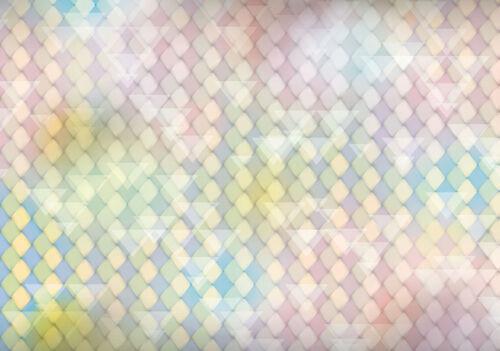 Tapete Fototapeten Tapeten  Bunte Kunst Abstraktion Geometrie Pastel  14N1474P4