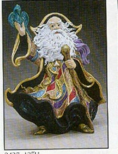 "Gare Wizard Merlin  13/"" ready to paint ceramic bisque"