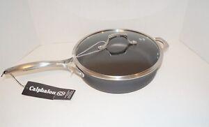 Calphalon 6 Qt Saut 233 Pan W Lid Unison Sear Nonstick Frying
