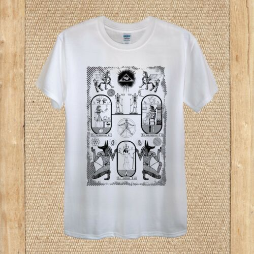 LUCE di khemet Creative T-shirt design antico di alta qualità aderente donna unisex