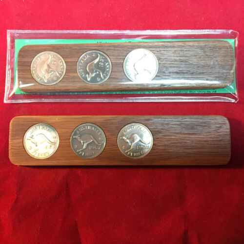 90th Birthday Gift Present w// 1929 Jarrah Two-Up Game /& Penny Keyring Gift Pack