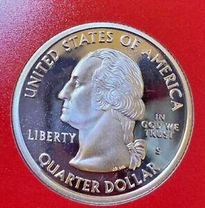 2004-S Wisconsin State Quarter 90/% Silver Gem Proof Deep Cameo