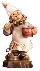 Gnome-Cocinero-CM-12-Grabado-en-Madera-De-en-Val-Gardena-Decorado-a-Mano