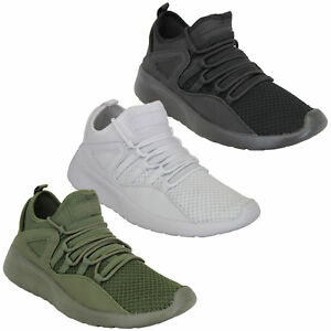 Mens-Trainers-Crosshatch-Running-Speed-Lace-Up-Sneakers-Sports-Gym-Casual-Shoes