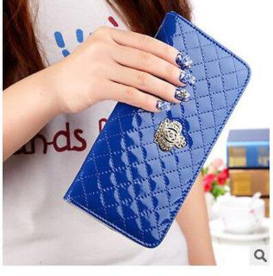 Women Fashion Clutch Leather Long Handbag Lady's Wallet Coin Purse Card Holder