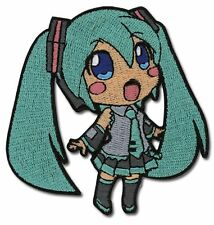 *NEW* Vocaloid: Chibi Hatsune Miku Embroidered Patch by GE Animation