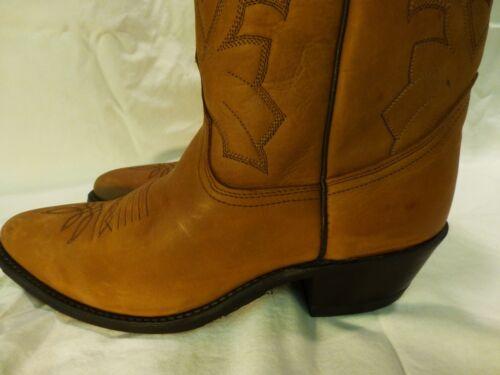5d Cowboy Cuir Western Dan Décontracté 9 Nouveau Habillé Marlboro En Post Femmes Bottes HxXxqtFP