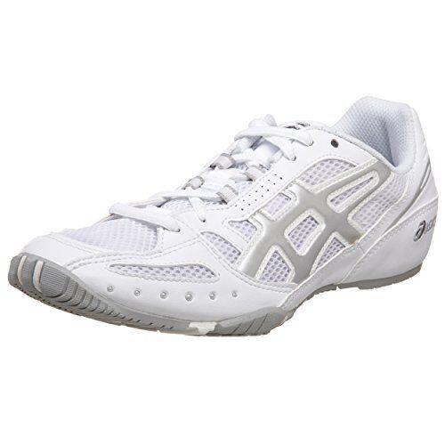 Nuevas Mujer Asics Grupo Grupo Grupo de Suministradores Nucleares Cheer 2 Cheer Zapato blancoo Plateado QQ75A Talla 4  Hay más marcas de productos de alta calidad.