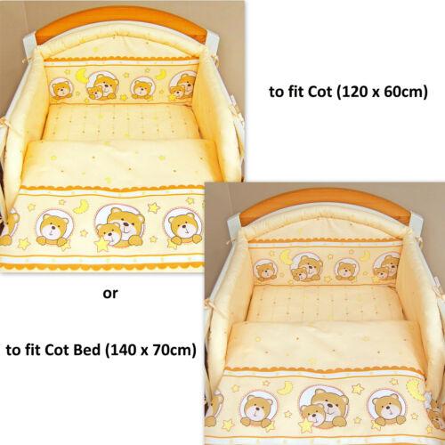 3pc conjunto de ropa de cama de vivero//Parachoques//Funda De Almohada//Funda De Edredón 4 bebé cuna o cuna cama