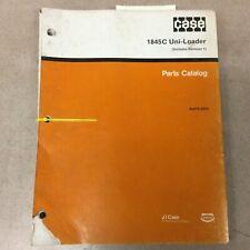 Case 1845c Parts Manual Book Catalog List Skid Steer Loader Guide Burl 8 2310
