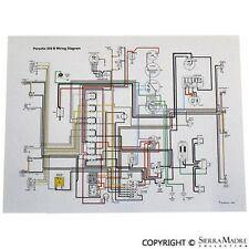 full color wiring diagram, porsche 911 e/s 1969 | ebay  ebay