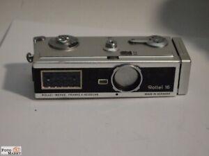 Rollei-16-Kamera-16mm-Film-Objektiv-Carl-Zeiss-Tessar-2-8-25-mm-Sammlerstuck