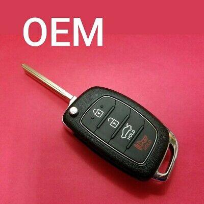 OEM Hyundai Sonata Remote Flip Key 4B Trunk TQ8-RKE-4F16