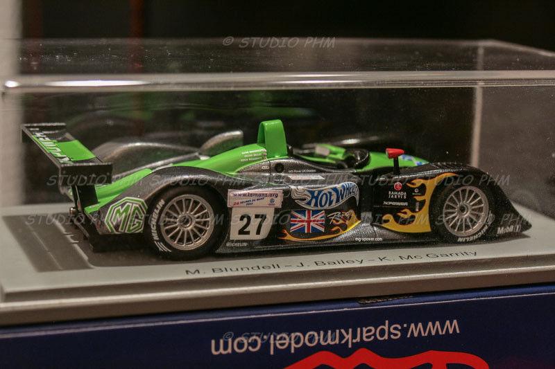 MG MG MG LOLA EX 257 LM N°27 MG Sport  24H du MANS 2002 Mark bleundell  Spark 1 43 848deb