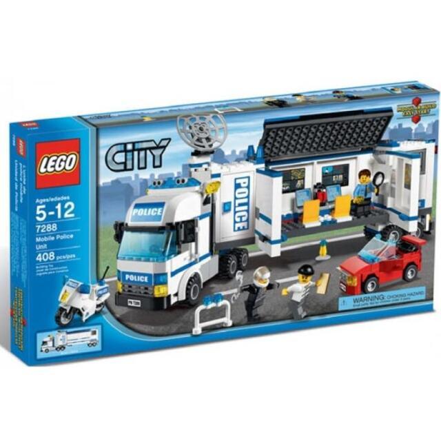 Lego City Mobile Police Unit 60044 For Sale Online Ebay