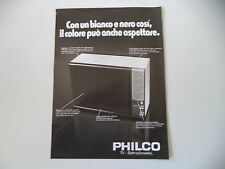 advertising Pubblicità 1975 TELEVISORE PHILCO