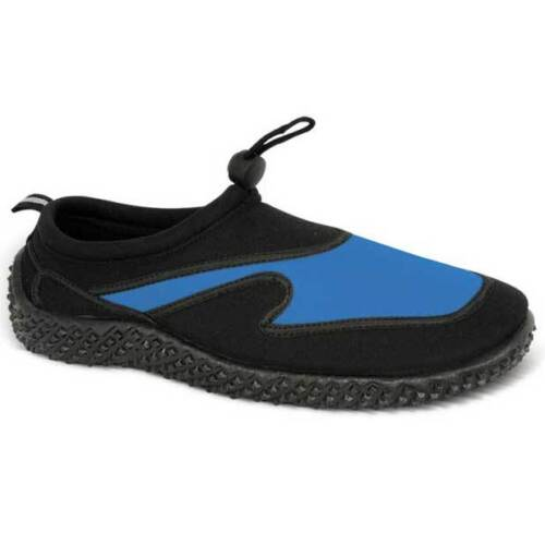 MENS URBAN BEACH AQUA SOCKS SHOES SIZE UK 6-11 SWIM SEA BLUE BLACK GREY FW310