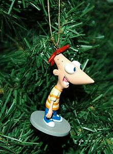 Phineas and Ferb Christmas Ornament