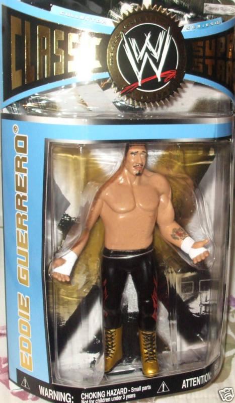 Jakks WWE WWE WWE SERIES 22 EDDIE GUERRERO LJN CHASE VARIANT CLASSIC SUPER STARS 7  8+ d8844d