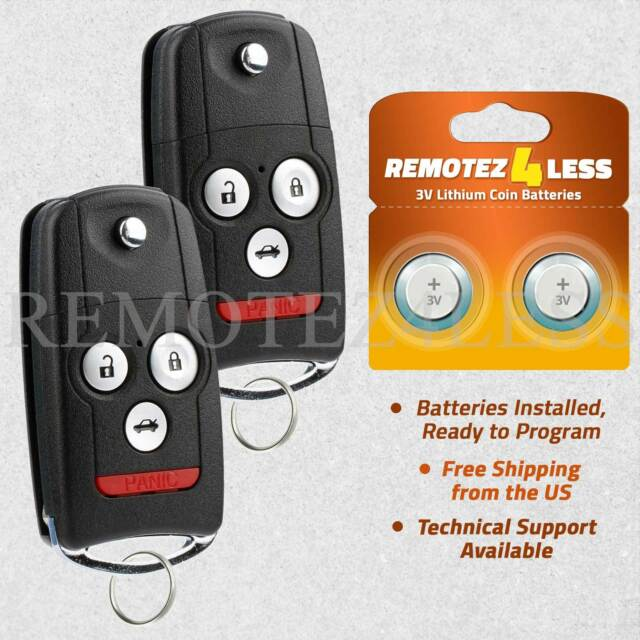 2 Keyless Entry Remote For 2007 2008 2009 2010 2011 2012