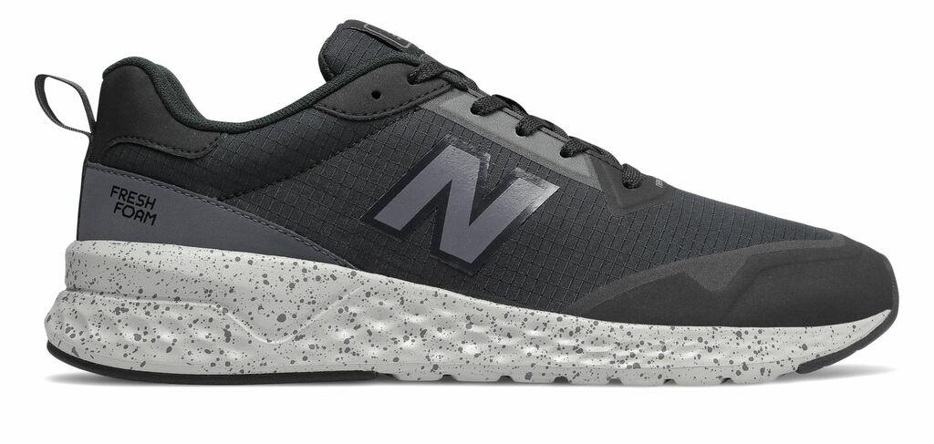 New Balance Men's Fresh Foam 515 Sport v2 Shoes Black with Grey  | eBay