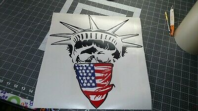 American Flag Bandana Lady Liberty Statue Of Liberty