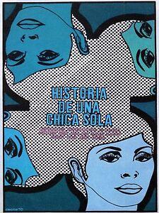 Quality POSTER on Paper or Canvas.Movie Art Decor.Historia de 1 Chica sola.4491a