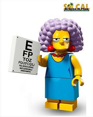 LEGO 71009 Simpsons Series 2 Edna Krabappel Unused Code