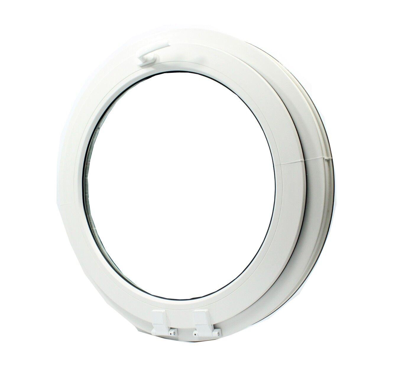 UPVC -Window Round arched circular double glazed VEKA  - handle on top- tilt