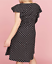 Lane-Bryant-Ruffle-Sleeve-Polka-Dot-Fit-Flare-Dress-Women-Plus-22-24-26-28-3x-4x thumbnail 2
