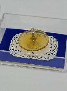 Dollhouse Miniature 1:12 Scale Amber Tidbit Server