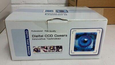 Yohii Dome Designed Plastic CCTV CCD Security Camera Cover Black+White