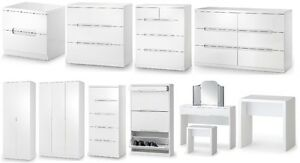 Manhattan-Gloss-White-Bedroom-Furniture-Bedside-Chests-Wardrobe-Dressing-Table